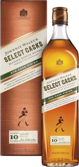 Johnnie Walker Select Casks Rye Cask Finish Scotch Whisky - CaskCartel.com