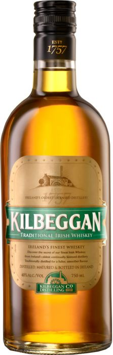 Kilbeggan Traditional Irish Whiskey - CaskCartel.com