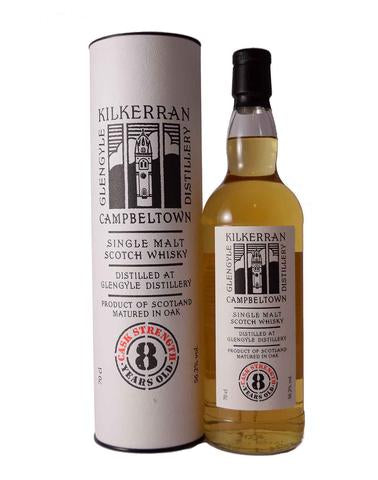 Kilkerran 8 Year Cask Strength Single Malt Scotch Whiskey