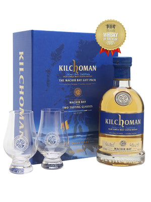 Kilchoman Machir Bay Gift Pack Whiskey - CaskCartel.com