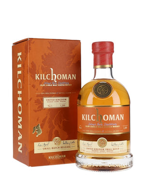 Kilchoman UK Small Batch No.1 Single Malt Scotch Whisky - CaskCartel.com