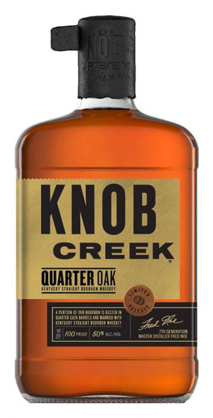 Knob Creek Quarter Oak Kentucky Straight Bourbon Whiskey - CaskCartel.com