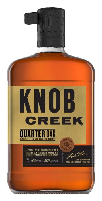 Knob Creek Quarter Oak Kentucky Straight Bourbon Whiskey