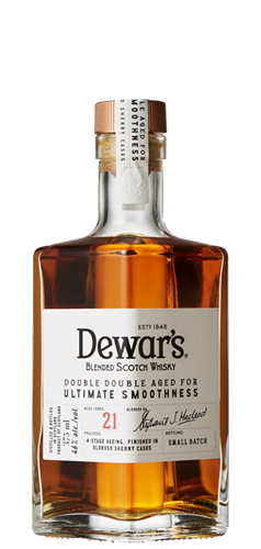 Dewar's Double Double 21 Year Old Blended Scotch Whisky - CaskCartel.com