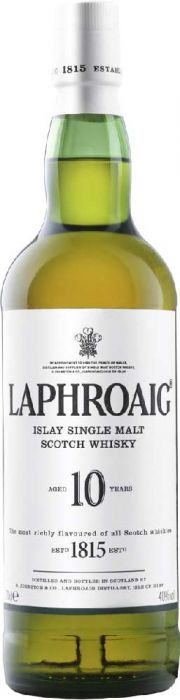 Laphroaig 10 Year Old Islay Single Malt Scotch Whisky - CaskCartel.com