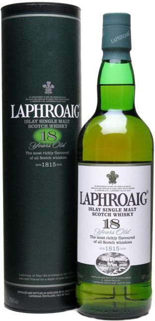 Laphroaig 18 Year Old Single Malt Scotch Whisky