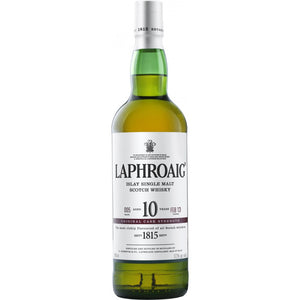 Laphroaig 10 Year Old Cask Strength Single Malt Scotch Whisky - CaskCartel.com