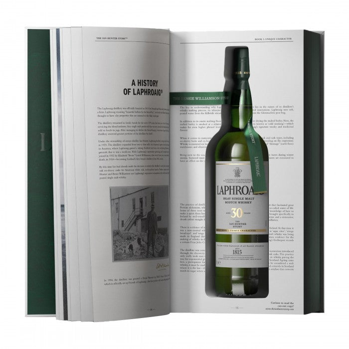 Laphroaig 30 Year Old The Ian Hunter Story Book 1 Single Malt Scotch Whisky