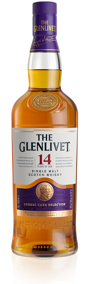 The Glenlivet 14 Year Old Single Malt Scotch Whisky - CaskCartel.com