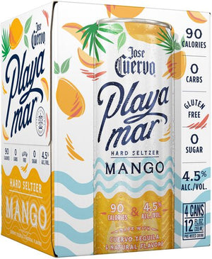 [BUY] Jose Cuervo | Playamar Mango​​​​​​​​ Tequila Hard Seltzer (4) Pack Cans at CaskCartel.com