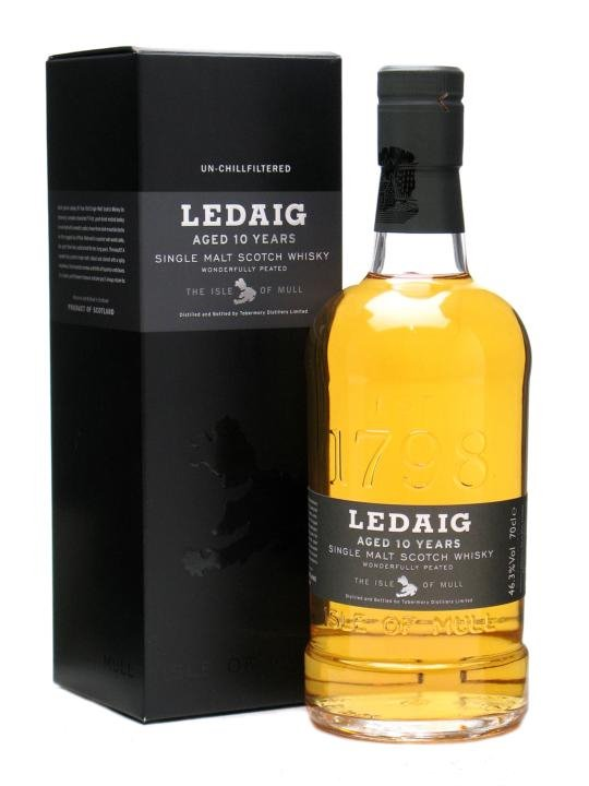 Ledaig 10 Year Old Single Malt Scotch Whisky