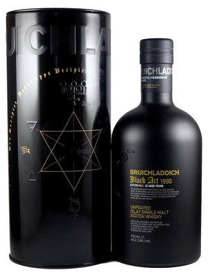 Bruichladdich 23 Year Old 1990 Black Art 4th Edition Unpeated Single Malt Scotch Whisky - CaskCartel.com