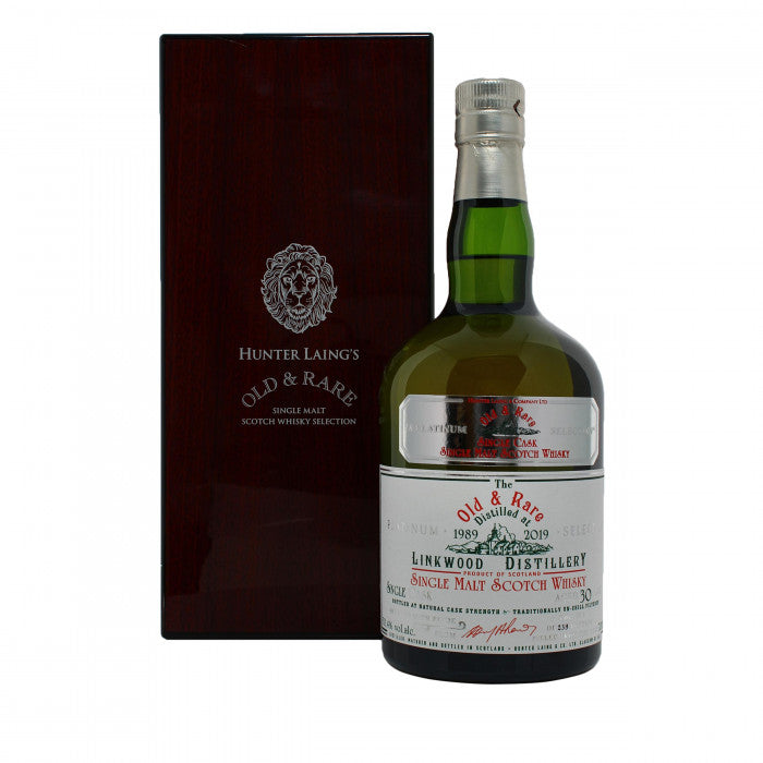 Linkwood 30 Year Old Platinum Old & Rare Single Malt Scotch Whisky