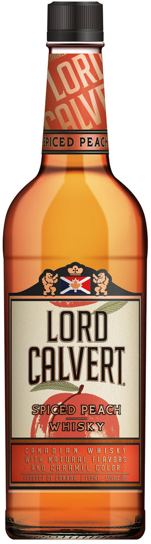 Lord Calvert Spiced Peach Flavored Candian Whisky at CaskCartel.com