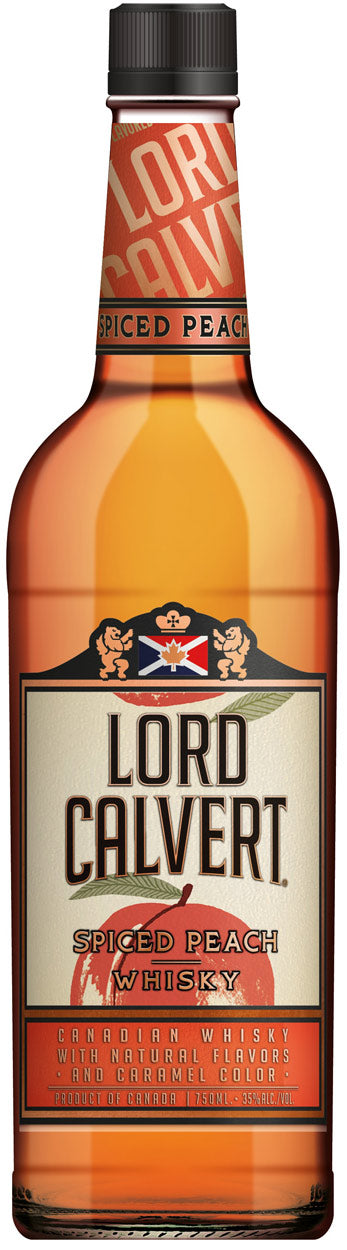 Lord Calvert Spiced Peach Flavored Candian Whisky