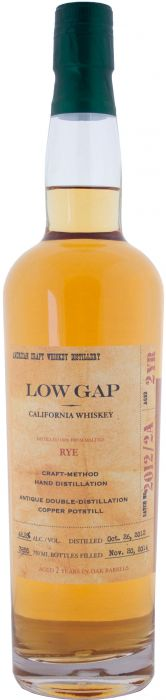 Low Gap Rye Whiskey - CaskCartel.com