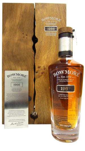 Bowmore 1966 50 Year Old Scotch Whisky - CaskCartel.com