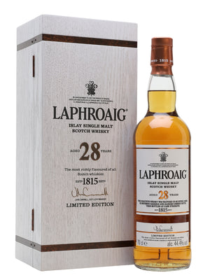 Laphroaig 28 Year Old Single Malt Scotch Limited Edition Whisky - CaskCartel.com