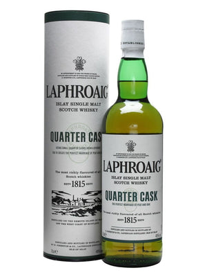 Laphroaig Quarter Cask Single Malt Scotch Whisky - CaskCartel.com