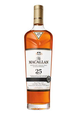 The Macallan 25 Year Old Sherry Oak Single Malt Scotch Whisky at CaskCartel.com