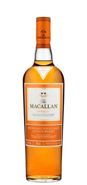 Macallan Amber 1824 Series Single Malt Scotch Whisky - CaskCartel.com