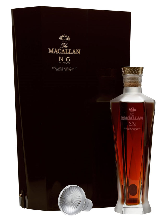 The Macallan No.6 in Lalique Decanter Highland Single Malt Scotch Whisky