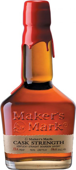 Maker's Mark Cask Strength Bourbon Whisky - CaskCartel.com