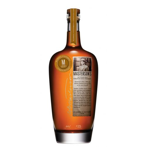 Masterson's 10 Year Old French Oak Rye Whisky