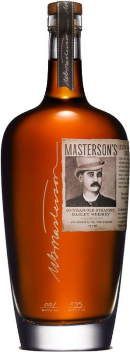 Masterson's 10 Year Old Straight Barley Whiskey