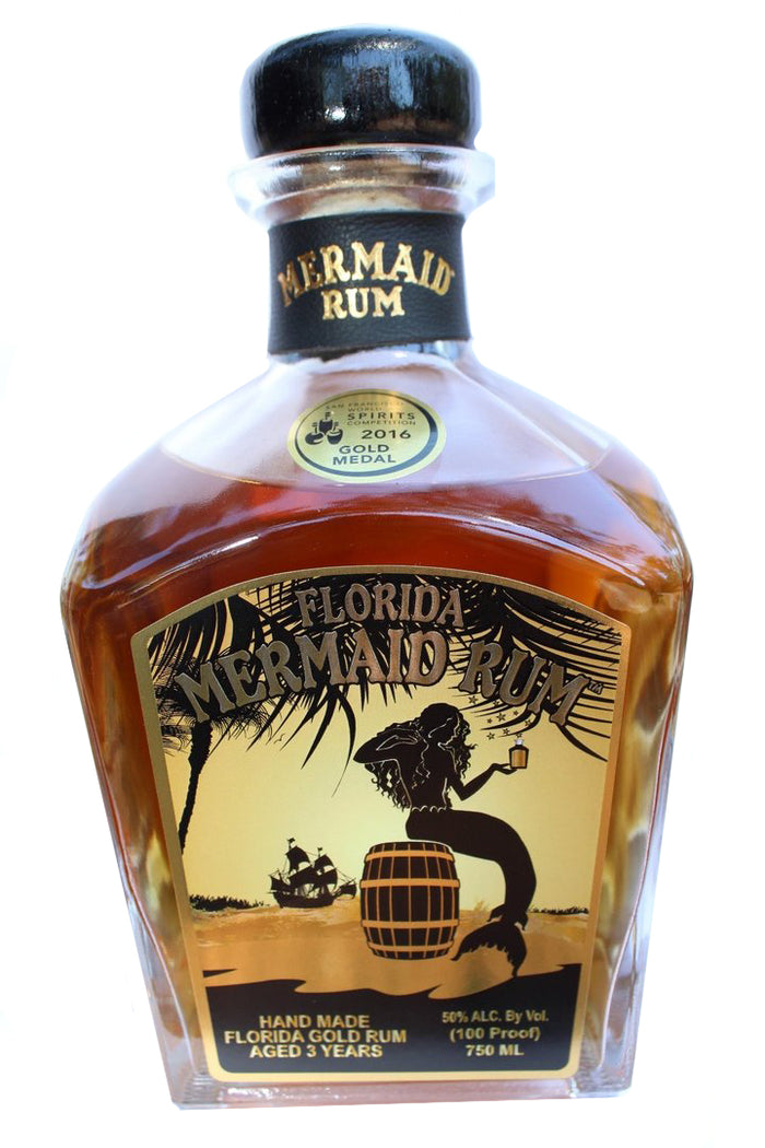 Mermaid Florida Gold Rum