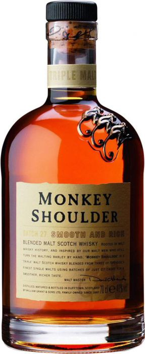 Monkey Shoulder Batch 27 Blended Malt Scotch Whisky - CaskCartel.com