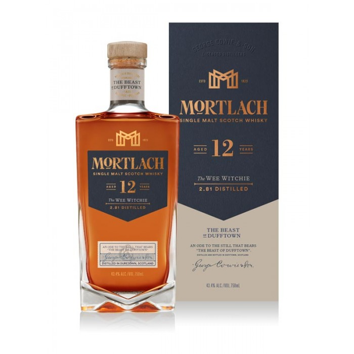 Mortlach 12 Year Old The Wee Witchie Single Malt Scotch Whisky