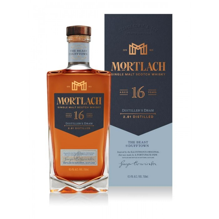 Mortlach 16 Year Old Distiller's Dram Single Malt Scotch Whisky