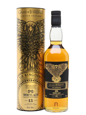 GAME OF THRONES | Mortlach Single Malt Scotch Whisky Aged 15 Years - CaskCartel.com