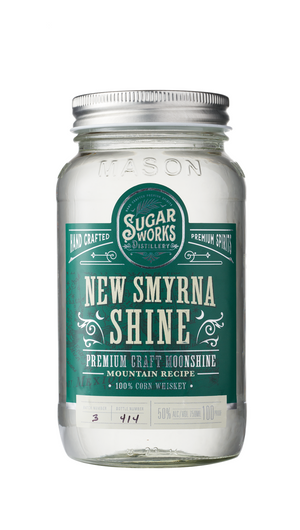 Sugar Works New Smyrna Shine 100% Corn Whiskey at CaskCartel.com