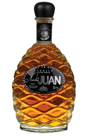 Number JUAN Extra Anejo Tequila by Ron White & Alex Reymundo