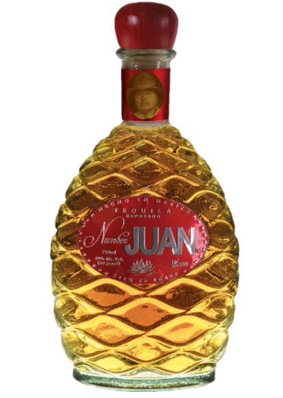 Number JUAN Reposado Tequila by Ron White & Alex Reymundo