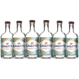 Callisto Californian Dry Botanical Rum (6) Bottle Bundle at CaskCartel.com