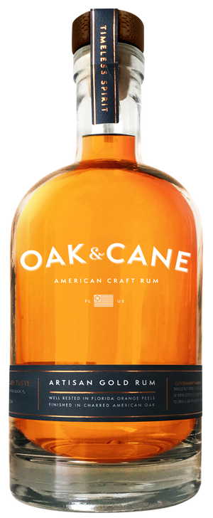 Oak And Cane American Craft Gold Rum - CaskCartel.com