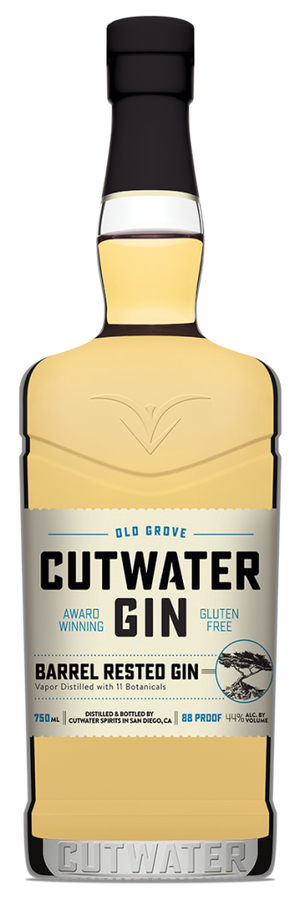 Cutwater Spirits Barrel Rested Old Grove California Small Batch Gin at CaskCartel.com