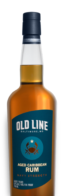 Old Line Navy Strength Aged Caribbean Rum