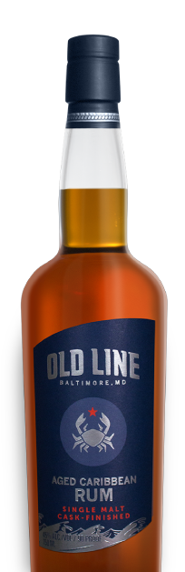 Old Line Single Malt Cask-Finished Aged Caribbean Rum