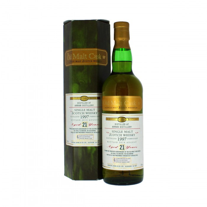 Arran 1997 21 Year Old Old Malt Cask Single Malt Scotch Whisky