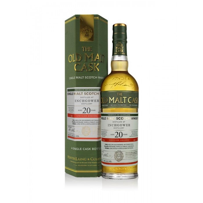 Inchgower Old Malt Cask 20 Year Old Single Malt Scotch Whisky