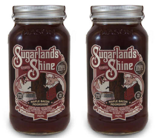 Sugarlands Shine Maple Bacon Moonshine (2) Bottle Bundle