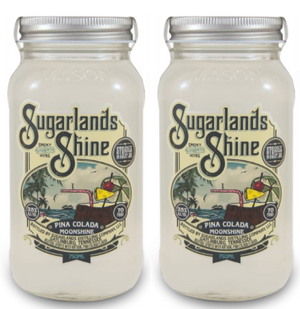Sugarlands Shine Pina Colada Moonshine (2) Bottle Bundle at CaskCartel.com