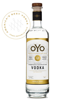 OYO Original Vodka at CaskCartel.com