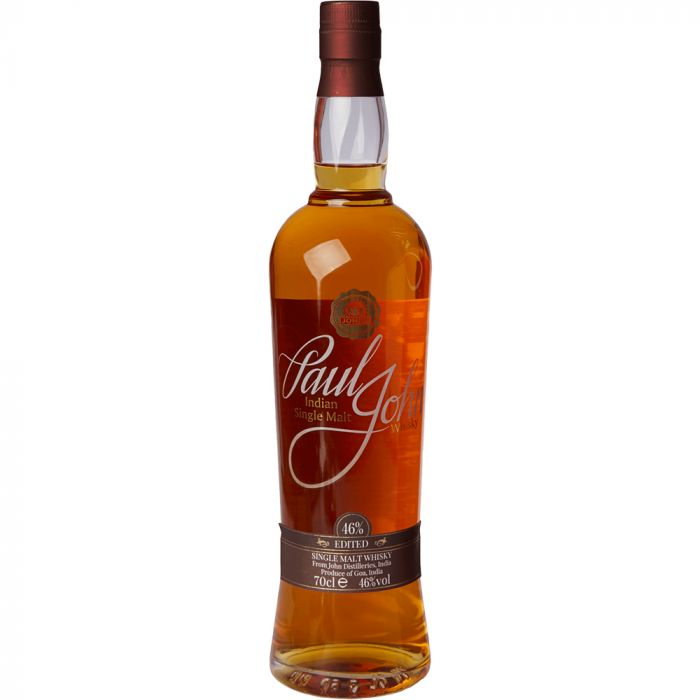 Paul John Peated Indian SIngle Malt Scotch Whiskey
