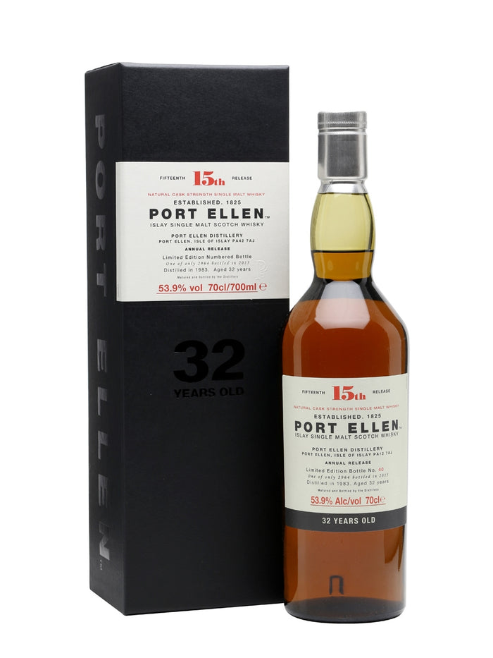Port Ellen 1983 - 32 Year Old - 15th Release Scotch Whisky
