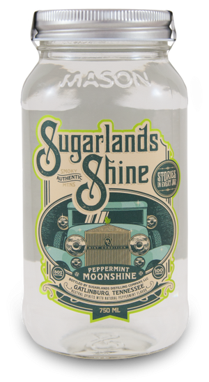 Sugarlands Shine Mint Condition Peppermint Moonshine - CaskCartel.com